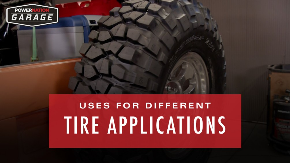 Uses For Different Tire Applications