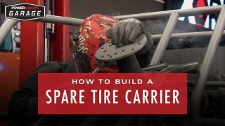 How To Build A Spare Tire Carrier