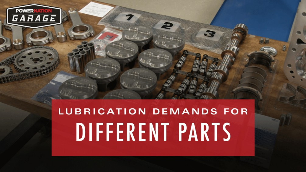 How To Differentiate Lubrication Demands For Different Parts