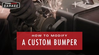 How To Modify A Custom Bumper