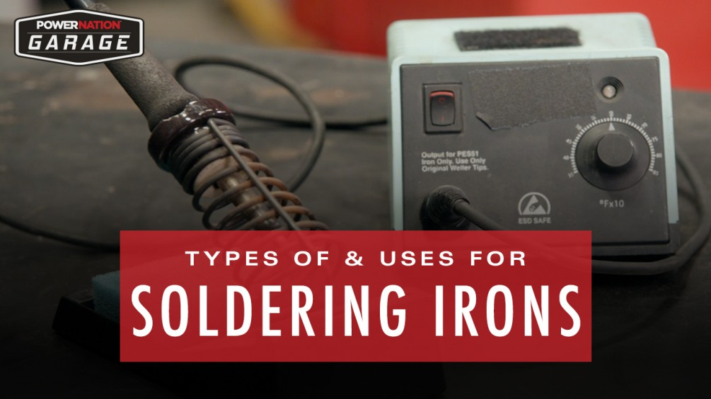 Types And Uses For Soldering Irons