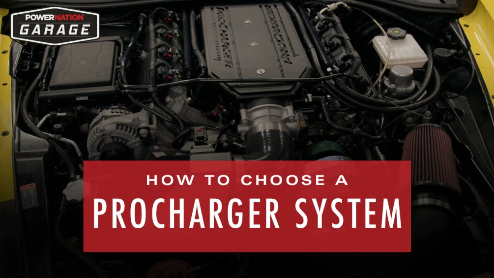 How To Choose Your ProCharger System