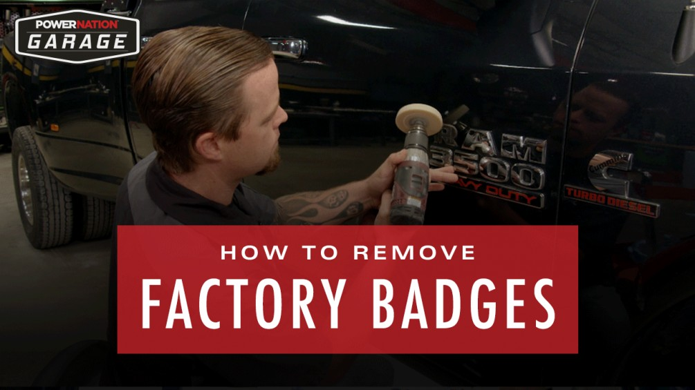 How To Remove Factory Badges