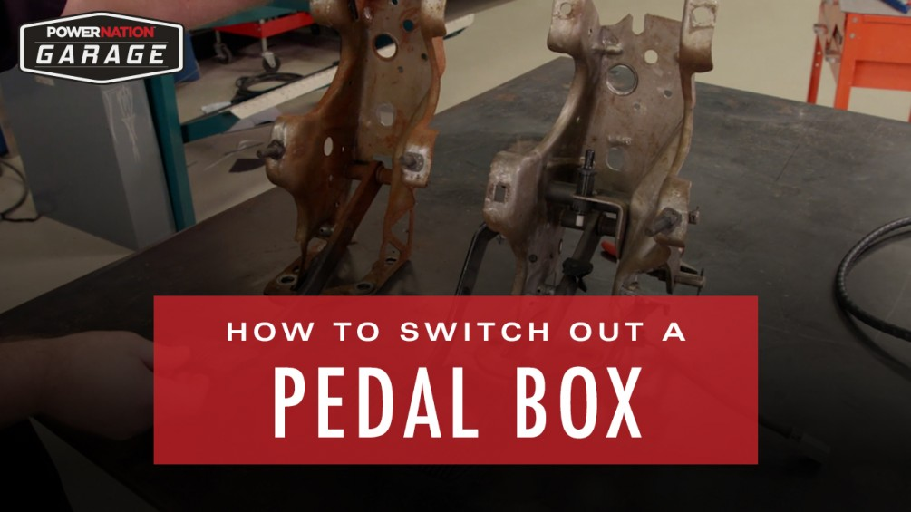 How To Switch Out A Pedal Box