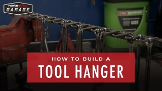 How To Build A Tool Hanger