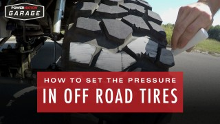 How To Set The Pressure In Off Road Tires