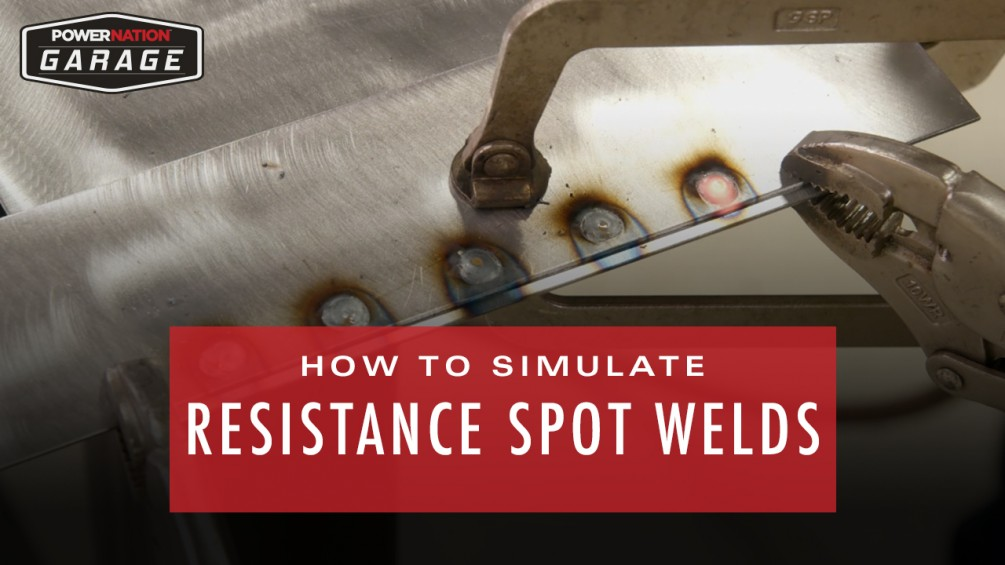 How To Simulate Resistance Spot Welds