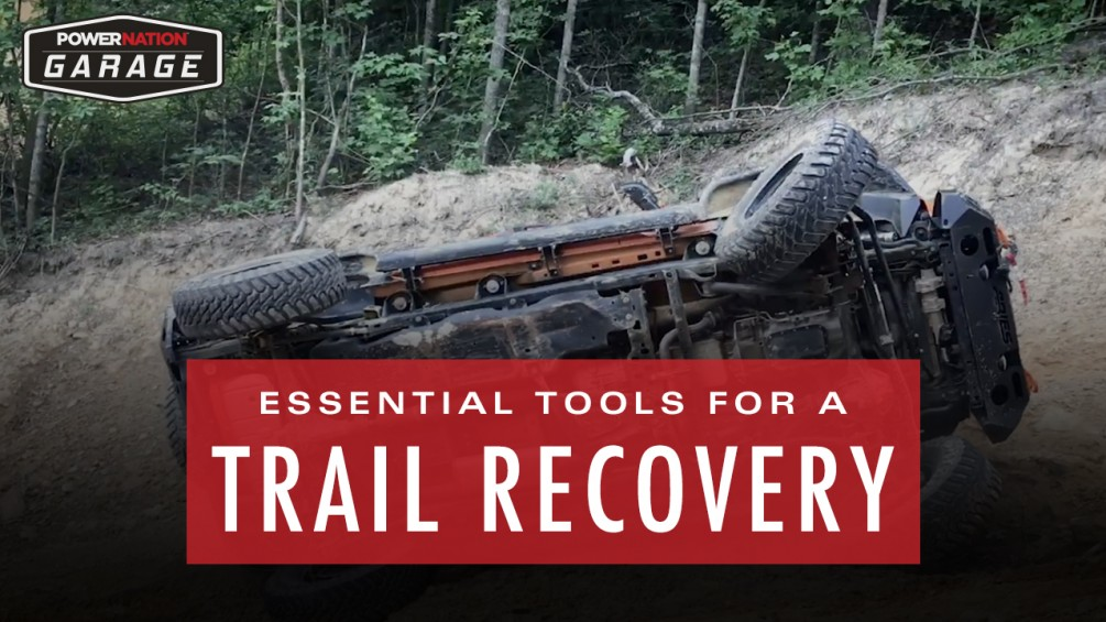 Essential Tools To Have In A Trail Recovery Bag