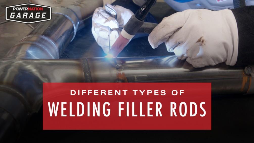 5 Common Types Of Welding Filler Rods