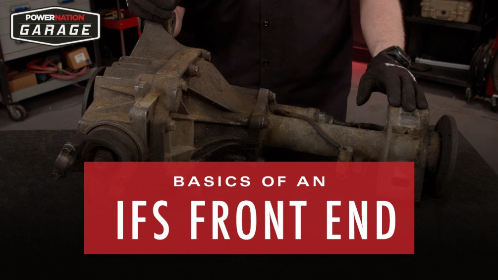 Basics Of An IFS Front End