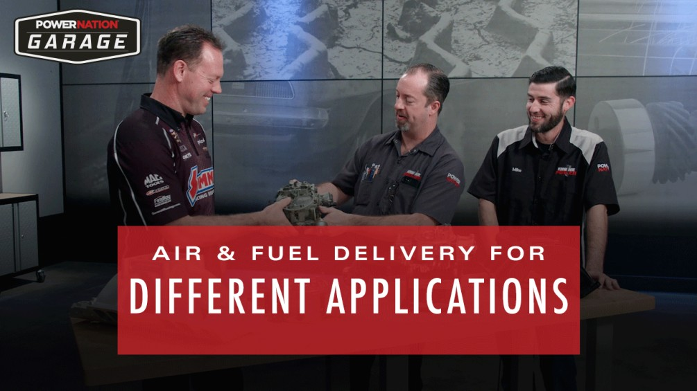 Air & Fuel Delivery For Different Applications