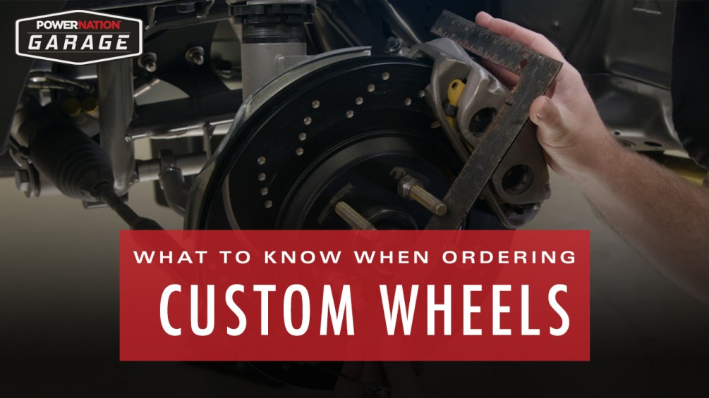 What To Know When Ordering Custom Wheels