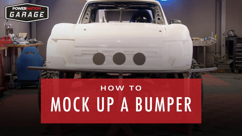 How To Mock Up A Bumper