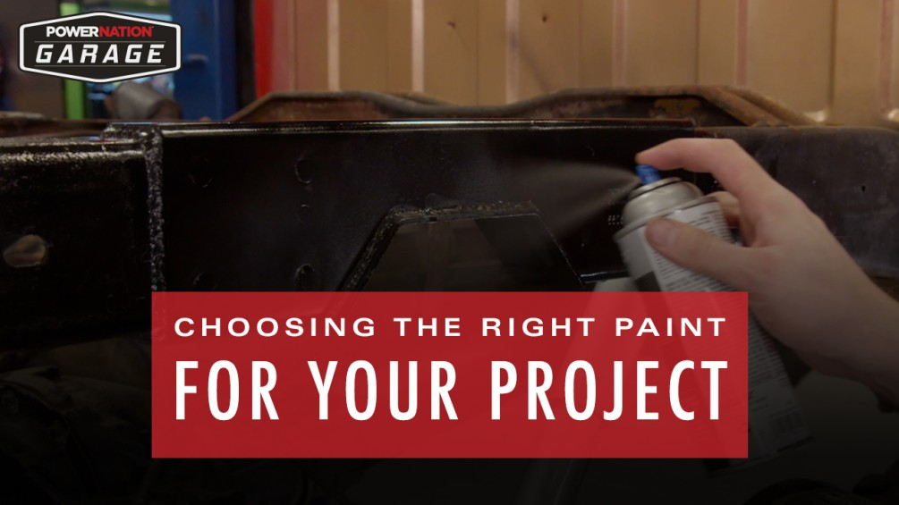 Finding The Best Paint For Your Project