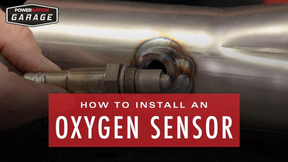 How To Install An Oxygen Sensor