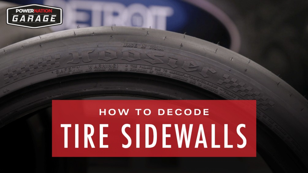 How To Decode Tire Sidewall Information