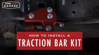 How To Install A Traction Bar Kit