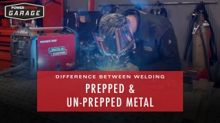 The Difference Between Welding Prepped & Un-Prepped Metal