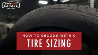 Decoding Metric Tire Sizing