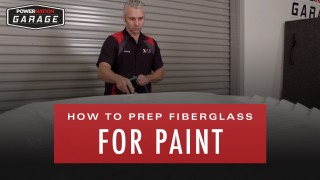 How To Prep Fiberglass For Paint