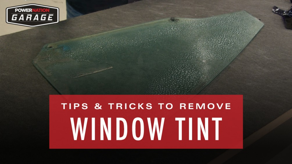 Tips & Tricks For Removing Window Tint