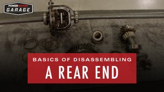 The Basics Of Disassembling A Rear End