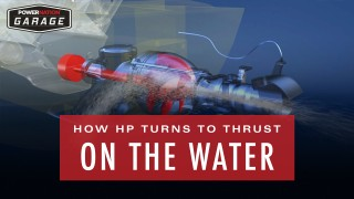How HP Turns To Thrust On The Water