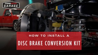 How To Install A Disc Brake Conversion Kit