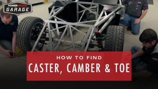 Finding Caster, Camber, And Toe