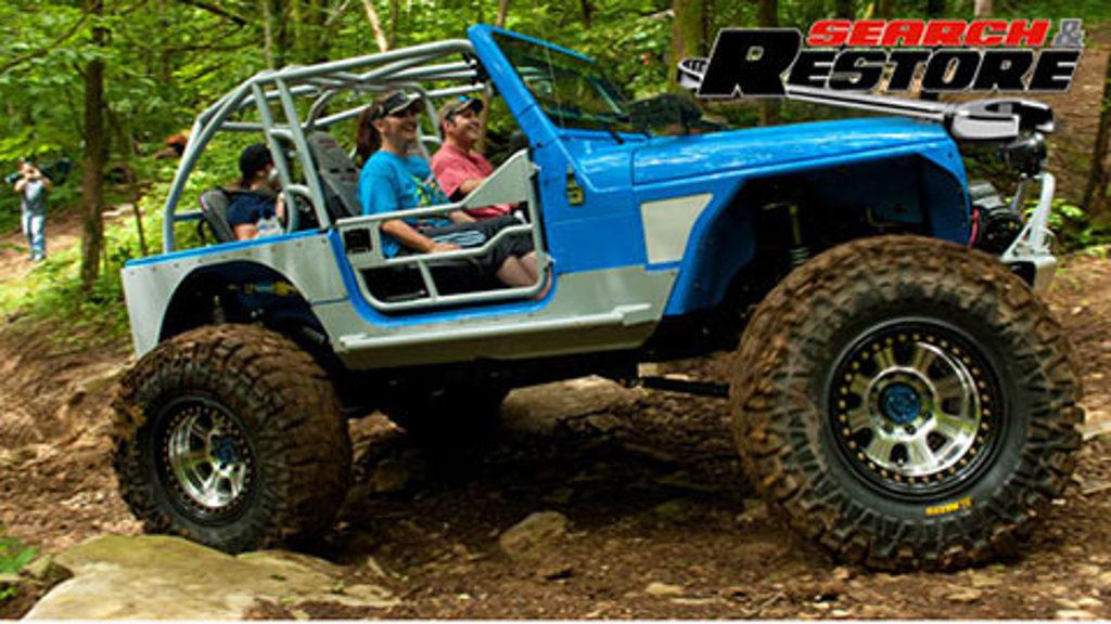 Jeep TJ Reveal & Trail Ride