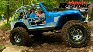 Jeep TJ Reveal & Trail Ride