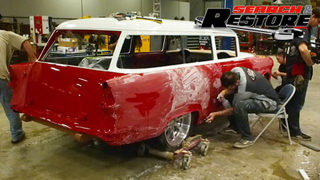 55 Chevy Handyman Wagon Part Iii Search And Restore