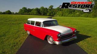 '55 Chevy Handyman Wagon Finale