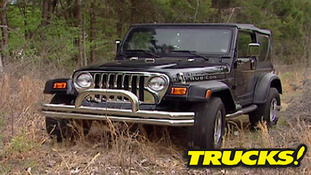 Mr. Personality -- Jeep C-J Mods &  Low-Buck Paint Secrets!   Low-Buck    Paint Secrets
