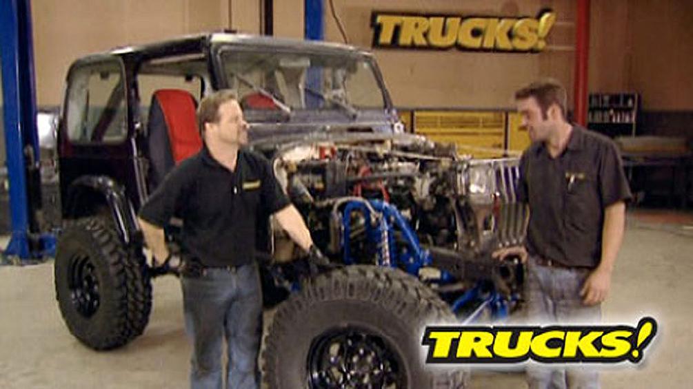 Project Jeep YJ: Part 2 : Trucks!