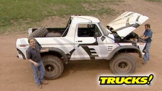 Full Size Bronco Built Ford Tough Takes On Off Road Park