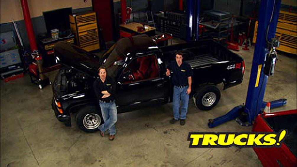 MuscleTrux Part 2: 1990 Chevrolet 454 SS : Trucks!