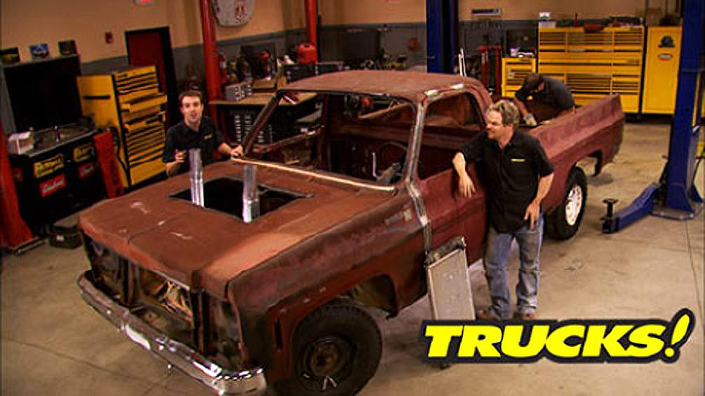 Project Crash'em up Truck : Trucks!