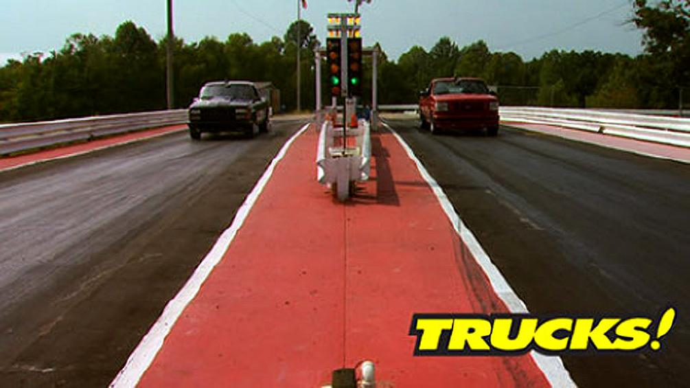 MuscleTrux Wars FINALE: Ford Lightning vs Chevy 454 SS Grudge Match