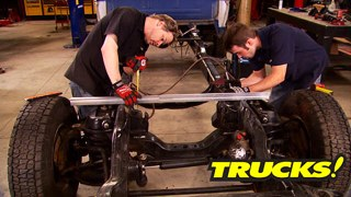 Super Dually Part 3: Frame Modification and Body Fitment