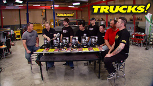 Trucks! All Star Auto Body Thrash