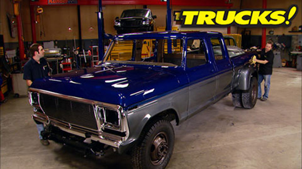 Super Dually Part 6:  A New Coat of Paint!