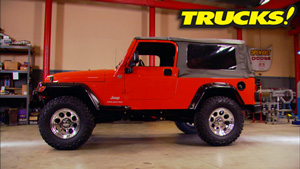 Jeep Wrangler Off-Road Upgrades