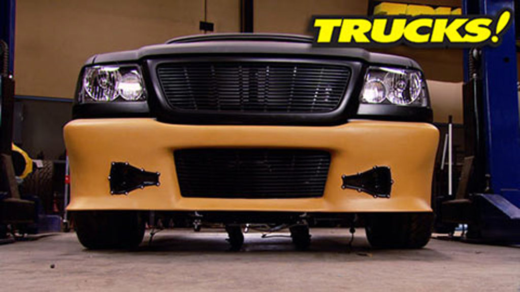 """Project: Rolling Thunder Part 16 - """"Blankie"""" Front Bumper Fab"""