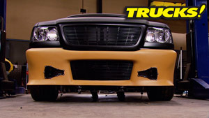 "Project: Rolling Thunder Part 16 - ""Blankie"" Front Bumper Fab"