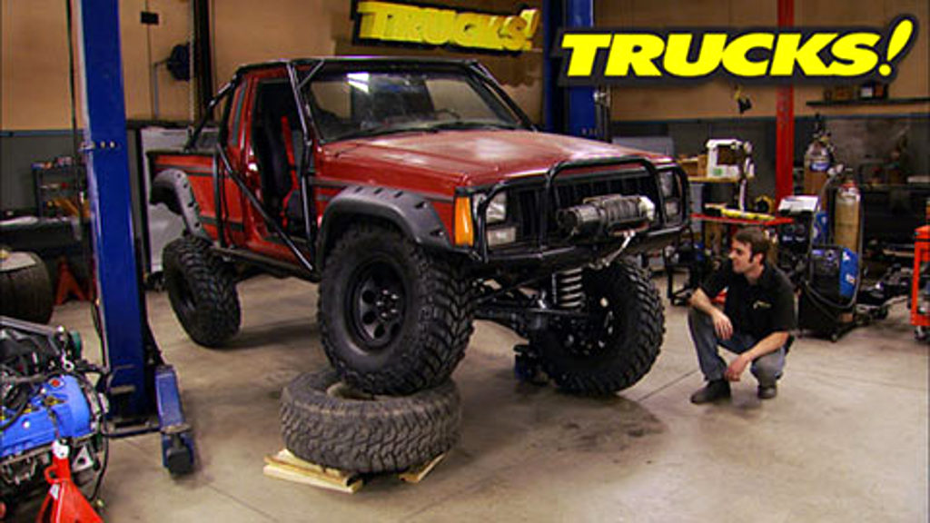 Jeep Comanche Three Link Suspension Upgrade : Trucks!