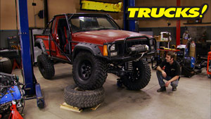 Jeep Comanche Three Link Suspension Upgrade