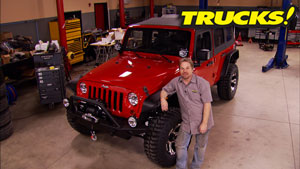 Bilstein's Jeep Wrangler JK Giveaway Project