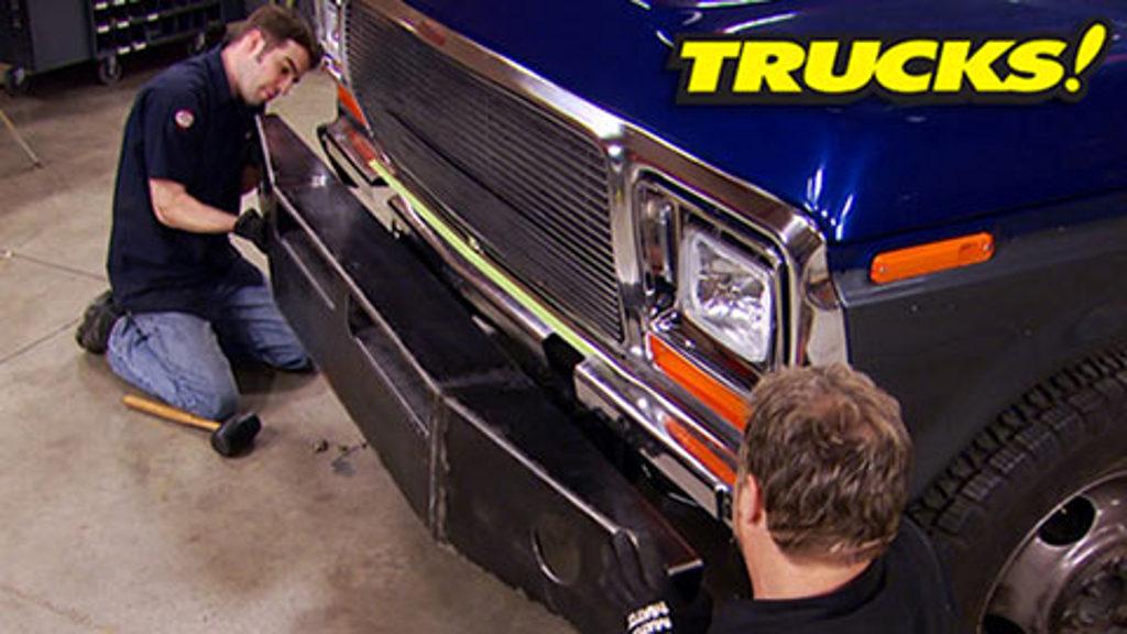 Super Dually Part 11 - New Interior & Custom Bumpers!