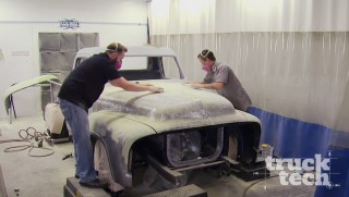 '55 Ford F100 Body Mockup & Paint Prep